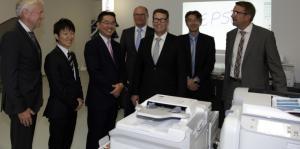 Japaner auf Visite in unserer Firma