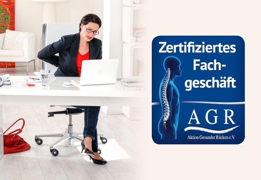 AGR zertifiziertes Fachgeschäft Sitz Steh Arbeitsplätze Buerowalther Oelsnitz